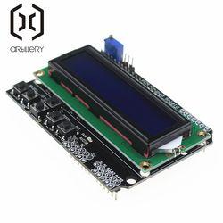 LCD Keypad Shield LCD1602 LCD 1602 Module Display ATMEGA328 ATMEGA2560 Raspberry Pi UNO Blue Screen