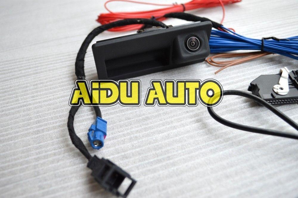 RGB REAR VIEW CAMERA Trunk Handle Low Camera KIT FOR JETTA MK5 MK6 TIGUAN RNS510 RCD510 RNS315