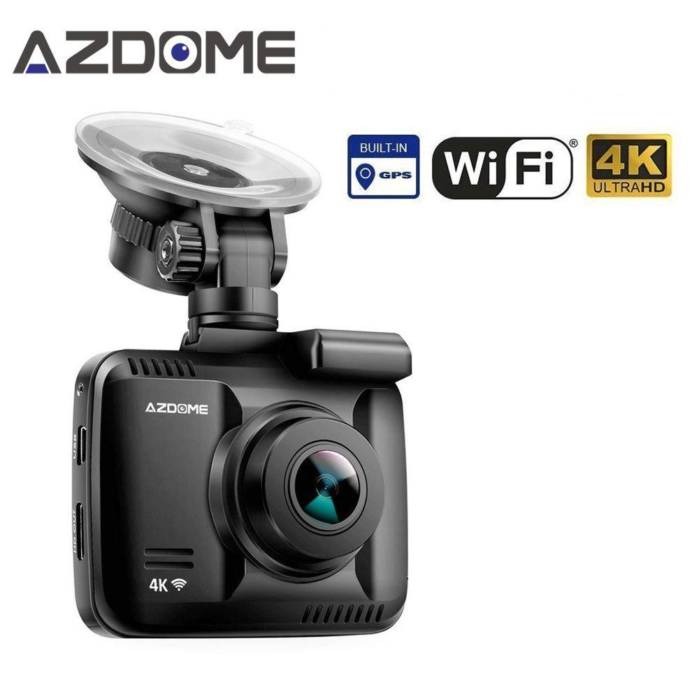 <font><b>GS63H</b></font> Car Dash Cam 4K 2160P Dash Camera Dashcam With WiFi GPS G-Sensor Loop Recording Parking Monitoring Car Camera DVR Azdome