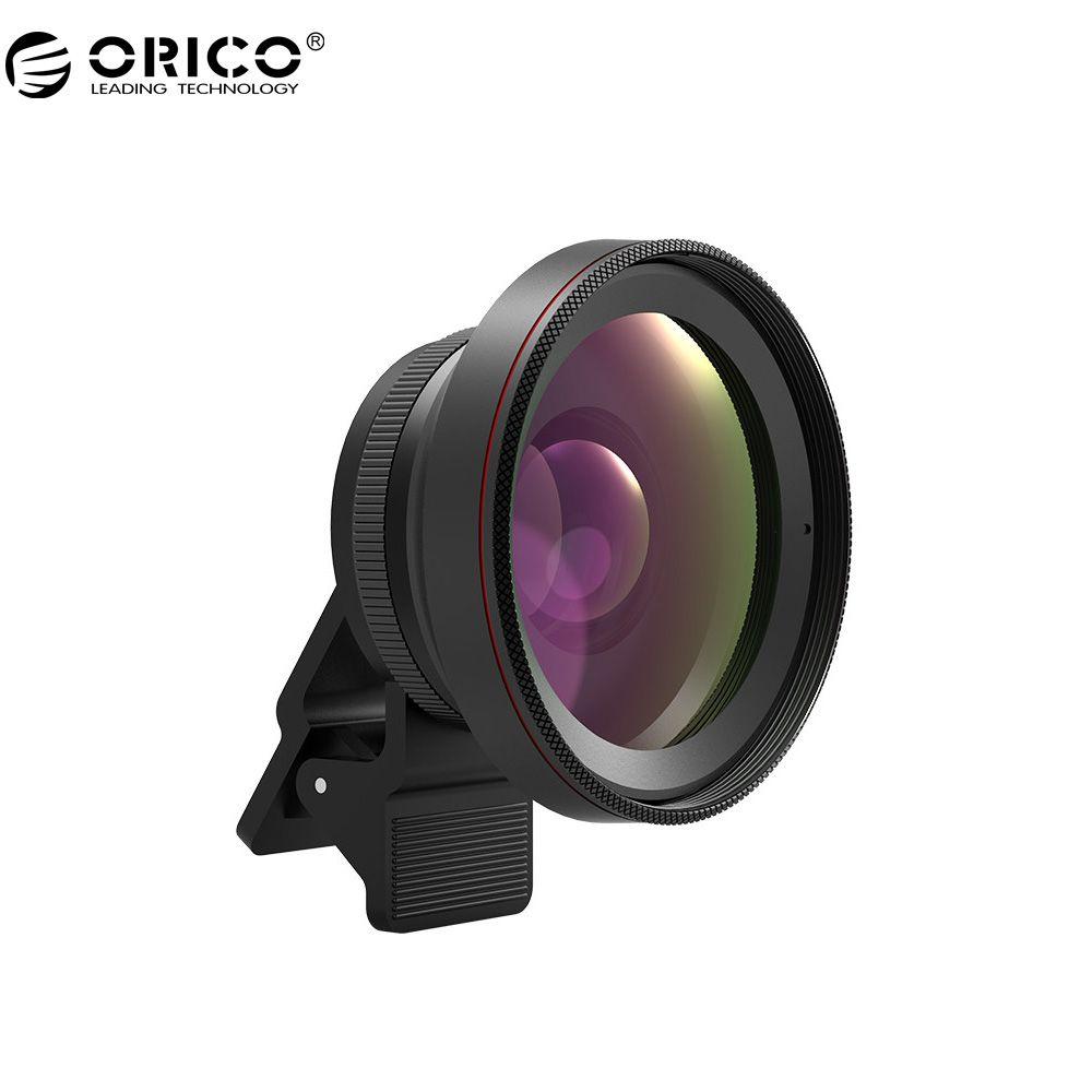 ORICO MPC-A2 Objectif Universel de Téléphone portable 2 en 1 Grand Angle + Macro Super Grand Angle Lentilles 59 MM Large Angle Calibre Pour téléphone