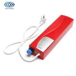 Hogar del calentador de agua eléctrico 220 V instantánea sin tanque ducha calefacción luces LED protección de fuga cocina baño 3000 W