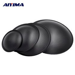 AIYIMA 2Pcs Audio Speakers 40mm 45mm 54mm 64mm Woofer Dust Cap Speaker Cone Cover For Speaker Repair