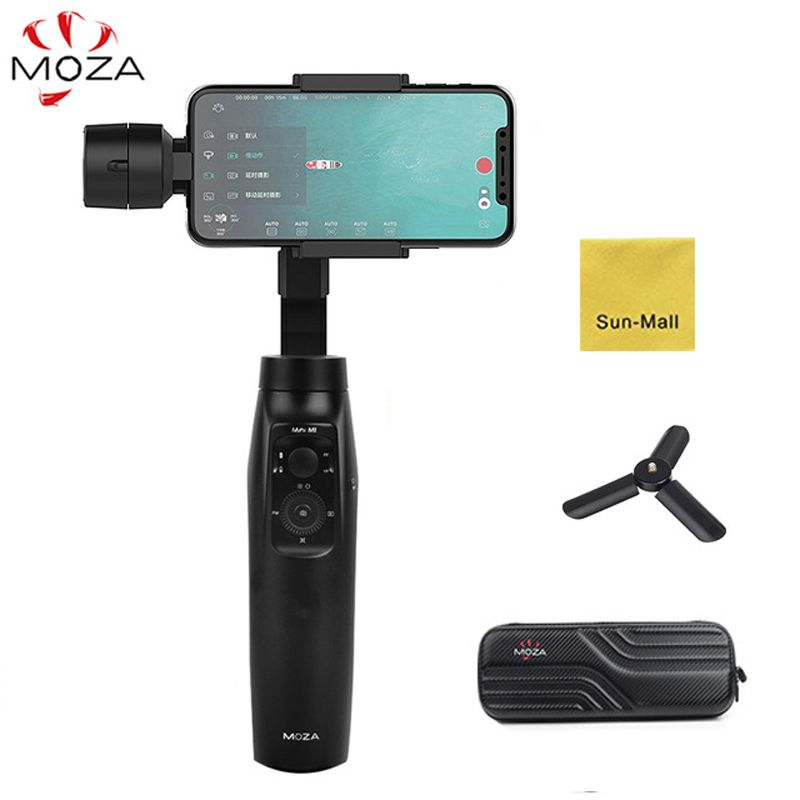 MOZA MINI MI 3-Axis Handheld Gimbal Stabilizer for Smart phone iPhone X 8 Plus 8 7 Samsung S9 S8 S7 with Maximum Payload 300g