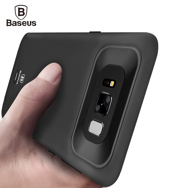 Baseus Battery Charger Case For Samsung Galaxy S8 Plus 5000/5500mAh Power Bank Case External Backup Battery Charging Case Cover