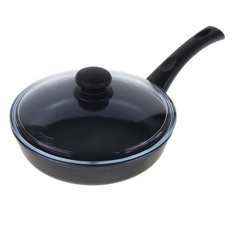 Сковорода Нева металл посуда, Литая, 28 см