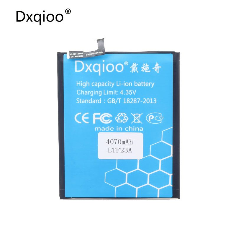 Dxqioo X720 LTF23A battery fit for LETV pro3 X720 LTF23A 4070mah batteries