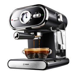 Italian Coffee Machine DL-KF5002 Semi-automatic Home Visualization Full Temperature Control 20BAR