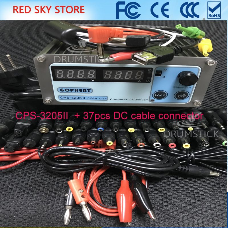 CPS-3205 0-30V-32V Adjustable DC Switching Power Supply 5A 160W SMPS Switchable AC 110V (95V-132V) / 220V (198V-264V)