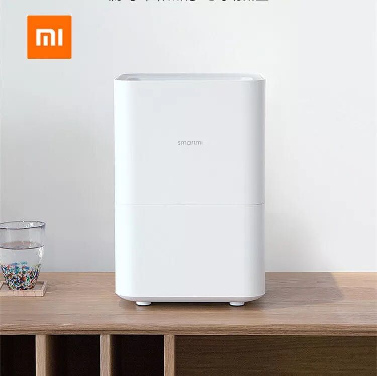 Xiaomi Original Evaporative Smartmi Humidifier For Home Air dampener Germicidal Aroma Essential Oil Data Smartphone Mi Home APP