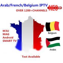Meilleur Arabe Français NEO IPTV pour 1 année avec 1200 + canal TV et VOD Pour Belgique Maroc iptv smart tv Android Énigme M3U MAG tv box