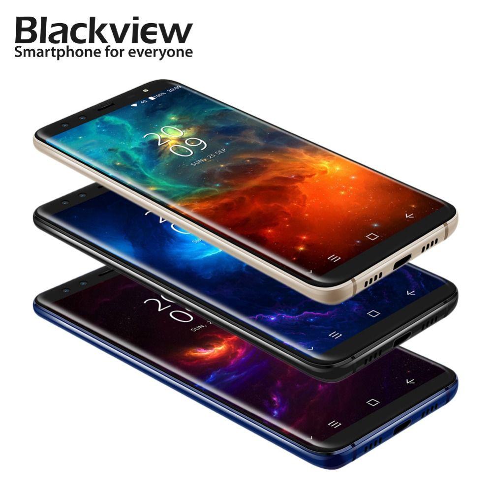 Blackview S8 18:9 4G RAM 64G ROM Smartphone 5.7 Inch MT6750T Octa Core 1440*720 4G LTE Fingerprint OTG Mobile Phone