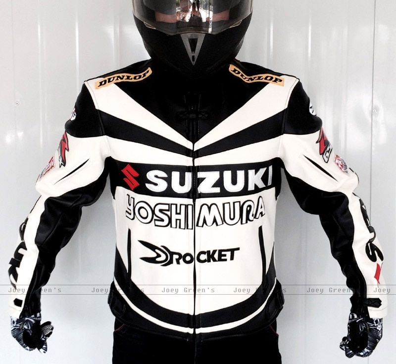 <font><b>Motorcycle</b></font> racing suit Professional Classic racing jacket for SUZUKI leather PU overalls winter <font><b>motorcycles</b></font> riding clothes