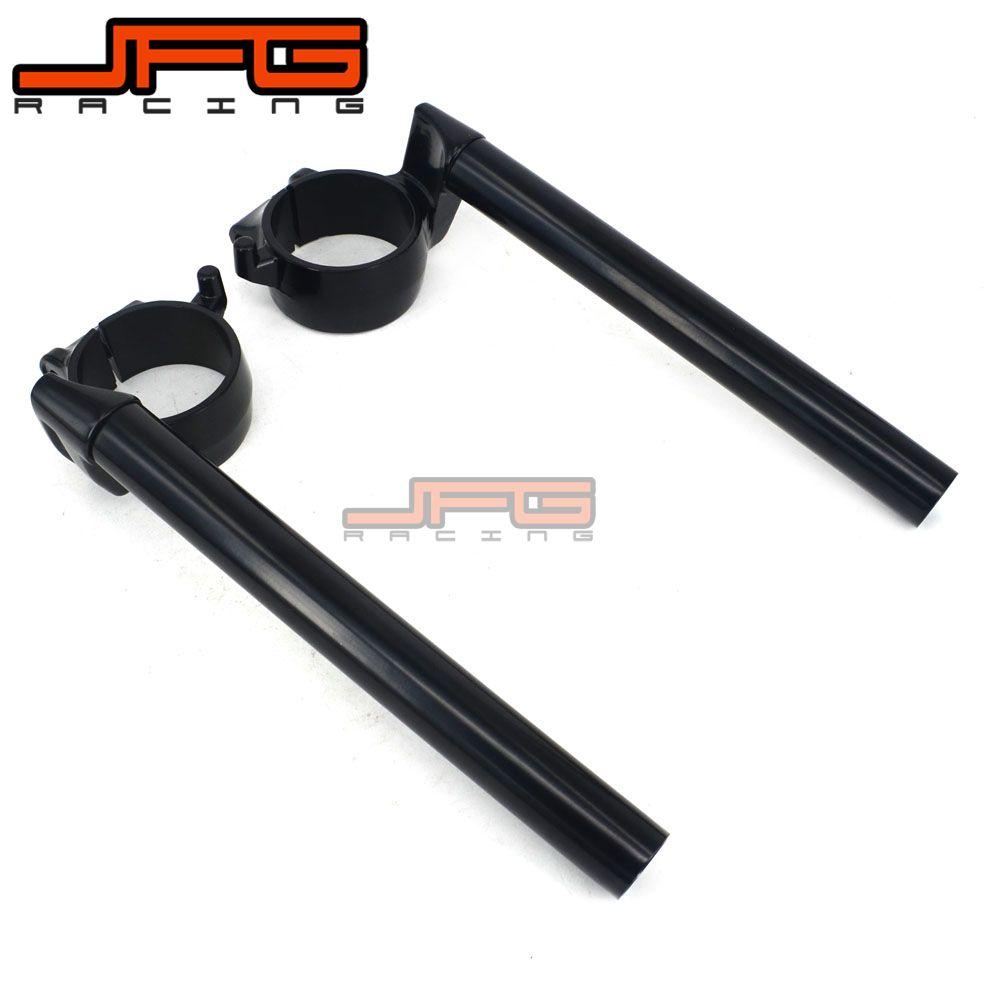 Motorcycle Handlebar Clip Ons Handle Bar Grips For HONDA CBR1000RR 04-10 RTV1000R RC51 00-06 CBR954RR 2002 2003 CBR929RR 2000 01