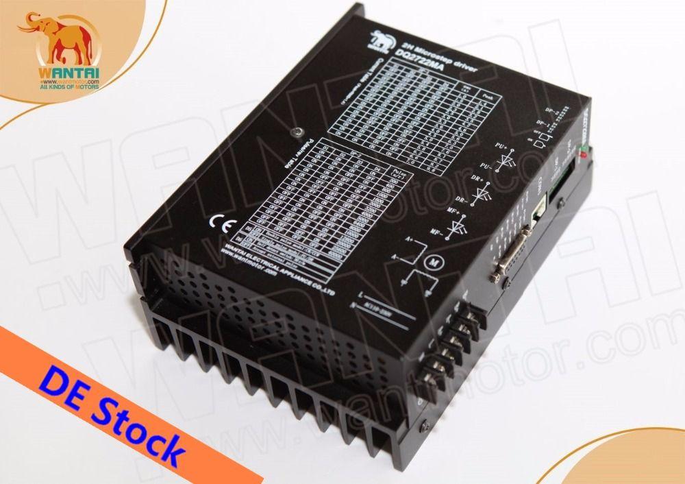 No tariff for EU&USA! Wantai Stepper Digital Driver DQ2722MA 110-220V 7.0A 300 Microsteps Matching Nema 42 stepper motor CNC