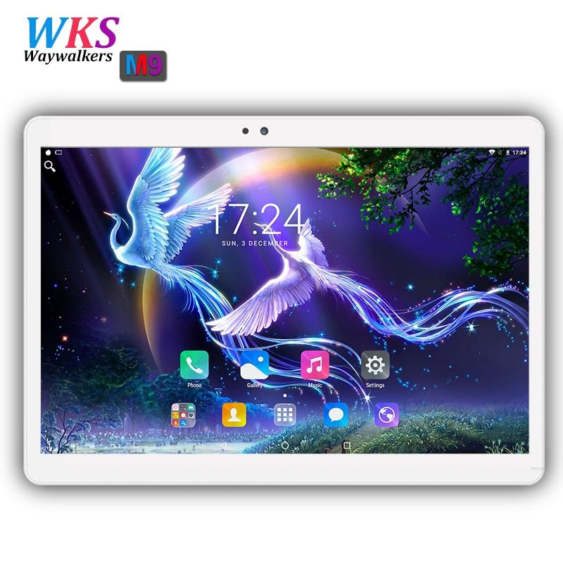 10.1 inch tablet pc 3G 4G LTE Android 7.0 Octa Core 4GB RAM 32/64GB ROM 1920*1200 IPS FM WIFI Bluetooth Smart Tablets PC 10 10.1