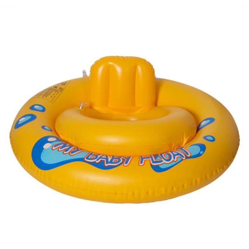 Inflable anillo de goma para Natación asiento cuerno flotador Piscina Accesorios lindo anillo de natación bebé Natación equipo de conducción
