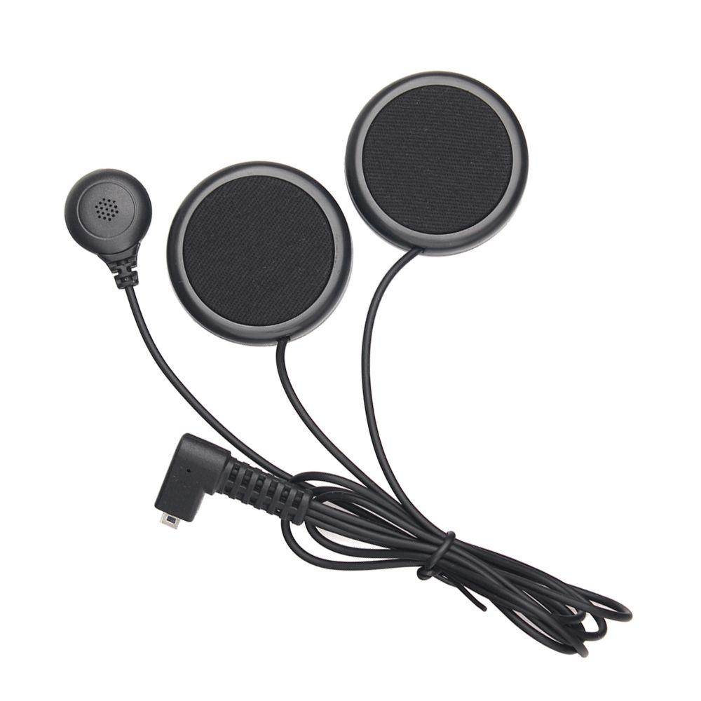 Motorcycle intercom accessories, soft earphone earpiece & mic for FDCVB T-COMVB TCOM-SC COLO KIE moto helmet bluetooth intercom