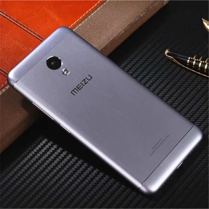 Meizu M3s Mini 5.0inch Official Original Metal Cover Case for Meizu M3s Mini Back Battery Cover Housing Replacement Parts M3s