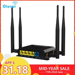 WiFi Router 4g 3g Modem Mit SIM Karte Slot Access Point 128 MB Openwrt Auto/Bus GSM 4G LTE USB Router Wireless Repeater WE826-T2