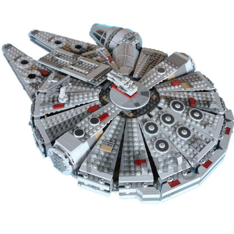Millennium Falcon Star Wars Set 1381 Pcs Mini Bricks Single Sale Models & Building Blocks Toys for Children legopingly
