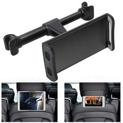 A bordo Universal 4-11 ''Tablet Car Holder para iPad 2/3/4 Mini aire 1 2 3 4 Pro asiento trasero soporte Tablet accesorios de coche