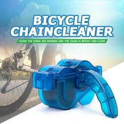 Portable Bicycle Chain Cleaner Bike Clean Machine Brushes Scrubber Wash Tool Mountain Cycling Cleaning Outdoor Accessories