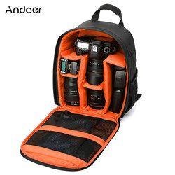 Cámara de múltiples funciones mochila Video Digital DSLR bolsa impermeable al aire libre Cámara foto bolsa para Nikon/para Canon /DSLR