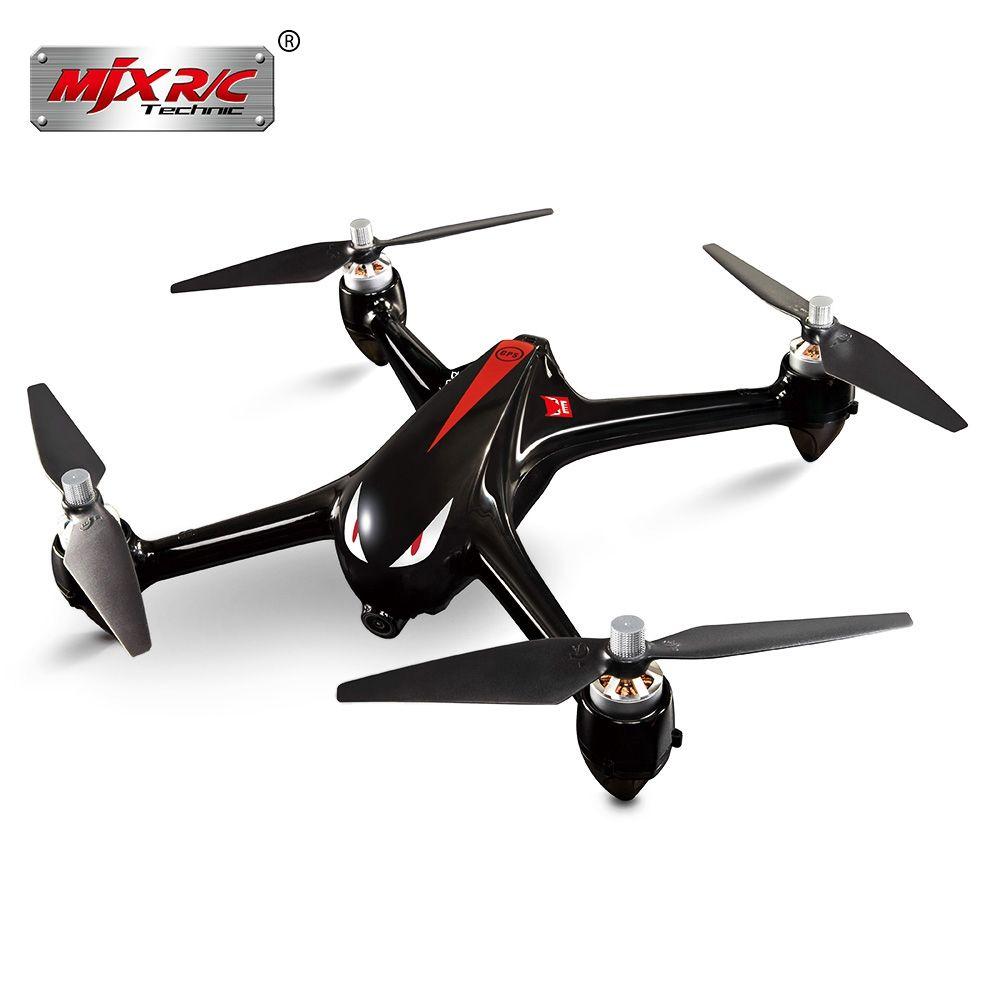 Original MJX Bugs 2 B2W Bürstenlosen RC Drone RTF 5 GHz WiFi FPV 1080 P Full HD/GPS Positionierung/2,4 GHz 4CH Dual-weg sender