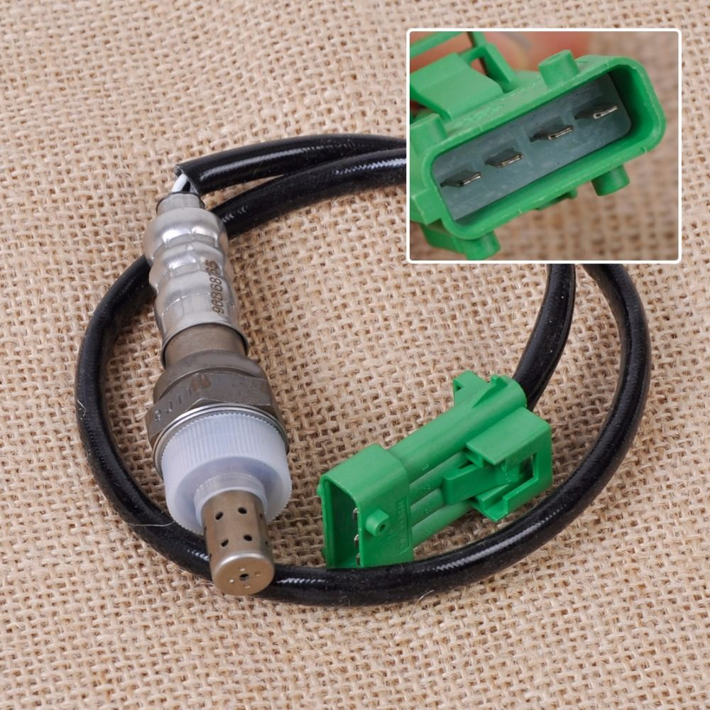 DWCX New Silver 4-Pins Replacement O2 Oxygen 53cm Lambda Probes Sensor 96368765 for Peugeot 206 207 306 406 407 Fast Shipping