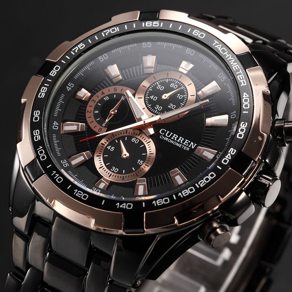<font><b>2016</b></font> CURREN Tag Brand Fashion Men Sport Analog Watches Men's Quartz Clock Male Casual Full Stainless Steel Military Wrist Watch
