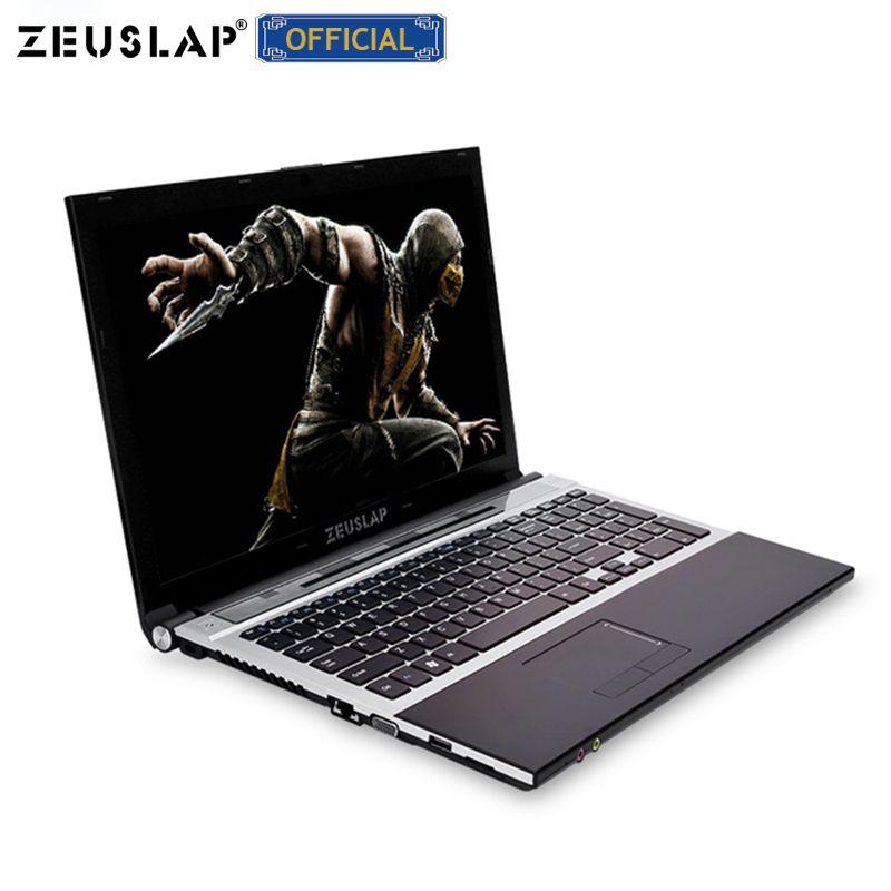 15,6 zoll intel core i7 8gb ram mit ssd und hdd dual festplatten Windows 10 system 1920x1080p volle hd notebook PC Laptop Computer