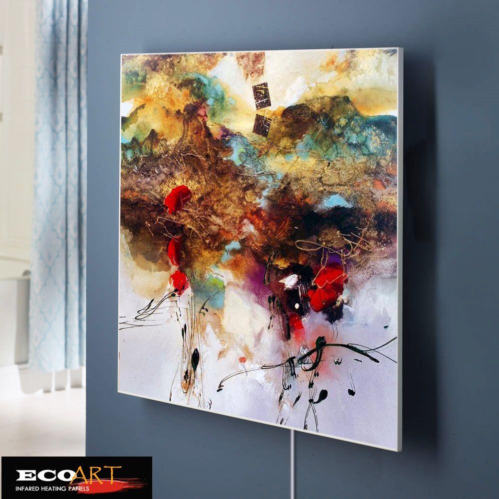 Eco Art Chauffage 360 w Personnalisé Conception Peinture À L'huile Infrarouge panneau chauffant