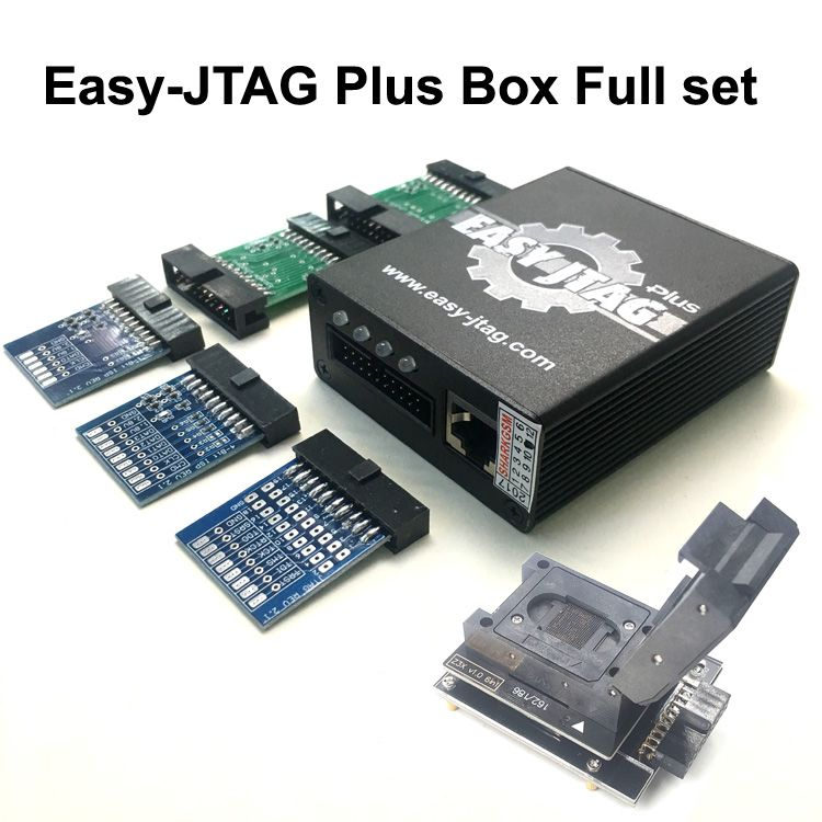 New version Full set Easy Jtag plus box Easy-Jtag plus box+ EMMC socket For HTC/ Huawei/LG/ Motorola /Samsung /SONY/ZTE