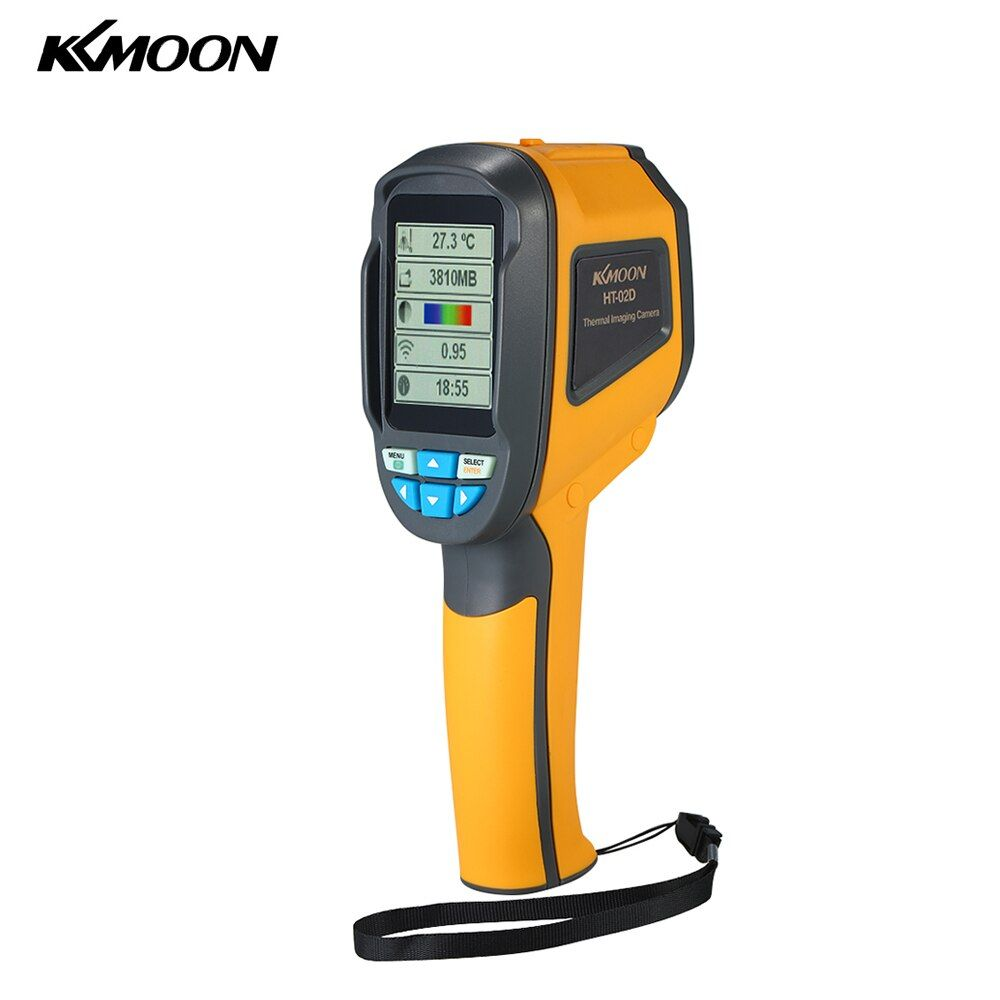 KKmoon Handheld Infrared Thermal Imager Thermometer -20-300 & IR Resolution 1024 Pixels TFT Color Display Imaging Camera