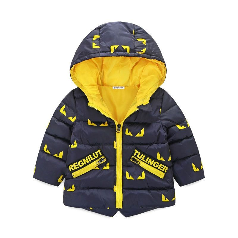 Children Down Parkas <font><b>Kids</b></font> clothes Winter Thick warm Boys girls jackets & coats Casual baby down outerwear