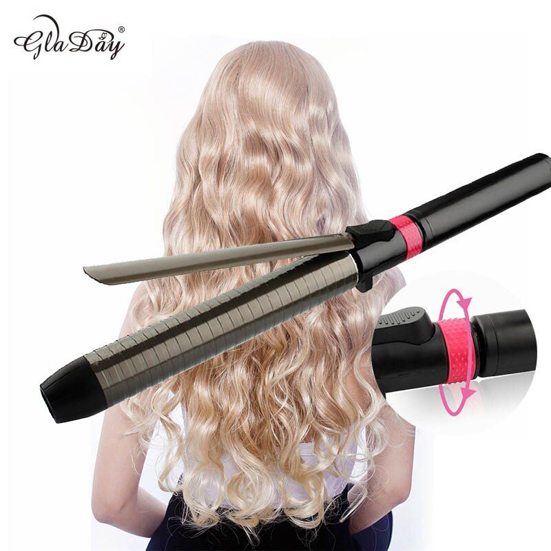 Professional Salon Ceramic coating curling iron temperature adjustment Wand curler hair curling irons hair curler styling tools