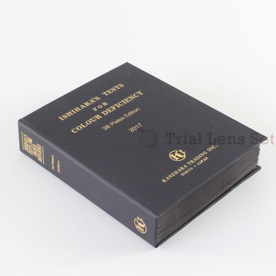 Livre Ishihara 38 plaques | optométrie couleur cécité livre de Test de carence en couleur