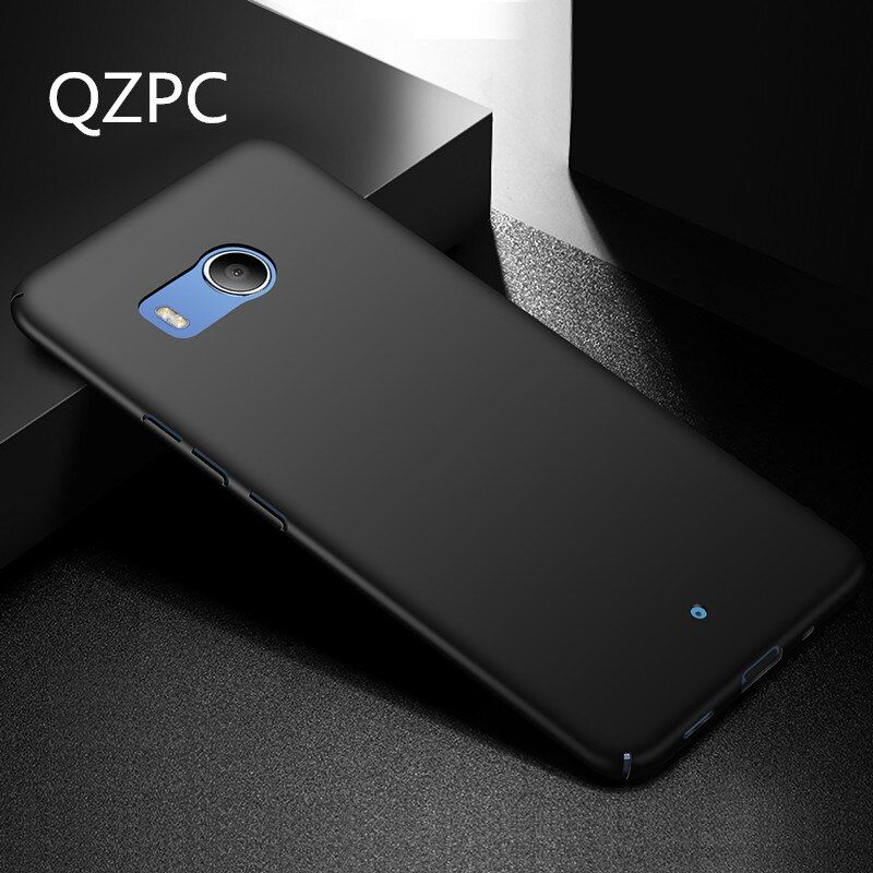 Chaude!!! en plastique Phone Case Cover Pour HTC U11 Plaine Noir Vert Rose Dur Cas