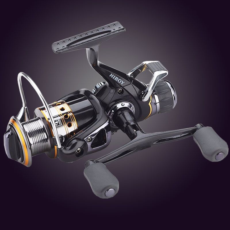 Hot Super Newest Technology Fishing Reel Left/<font><b>Right</b></font> Handle Metal Spool Fishing Carp Reel 9BB+1RB with 1 spare spool