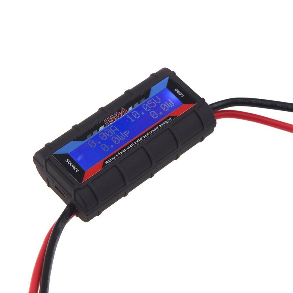 MYLB-FT08 RC 150A High Precision Watt Meter and Power <font><b>Analyzer</b></font> w/ Backlight LCD