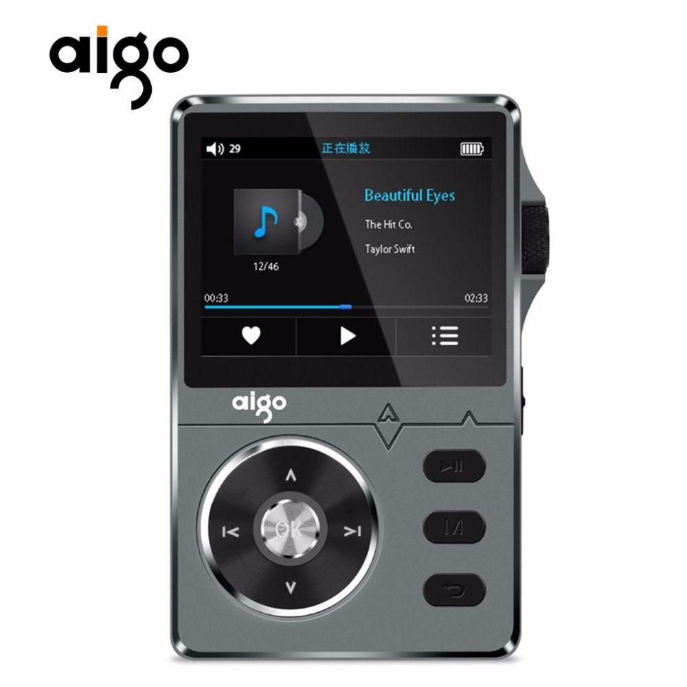 Aigo 108 Zinc Alloy HiFi High Quality Sound Lossless Music 2.2 Inches 8GB MP3 Player Support APE/FLAC/ WMA/ WAV/OGG/ACC