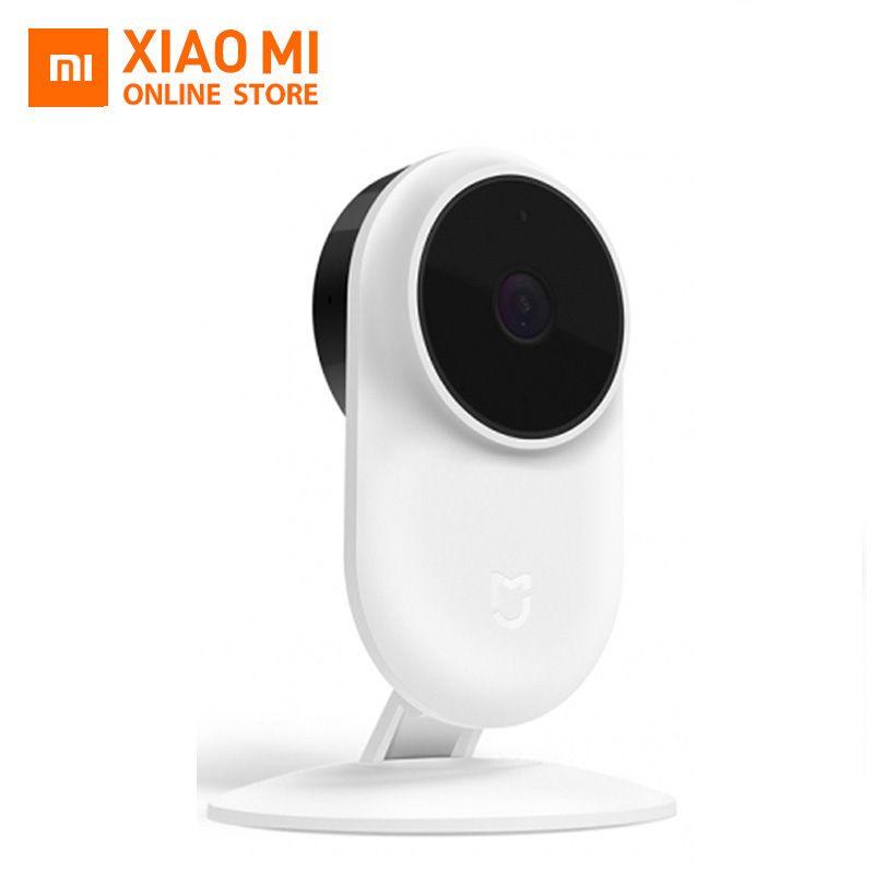 2018 New Version Xiaomi Mi Mijia 1080P Smart ip Webcam 130 Degree 2.4Ghz WiFi 10m Infrared Night Vision+NAS Mic Speaker Home Cam