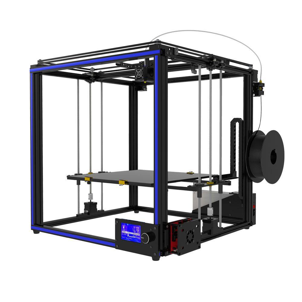 DIY kit assemble TRONXY X5S-400 3D printer High precision print Big size 400x400x400mm Free shipping