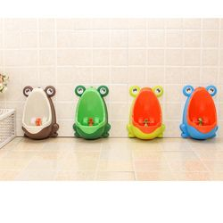Pinico Enfants Urinoir pour Garçons Pot Bébé Pingouin/Grenouille Enfants de Toilette Formation Urinoir-garçon Stand Crochet Pipi formateurs Pots Penico