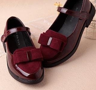 Дети принцесса кожа Обувь PU 3 вида цветов Повседневное Детские цветок розовый модная одежда для девочек Брендовая обувь Ninos Бесплатная дост...