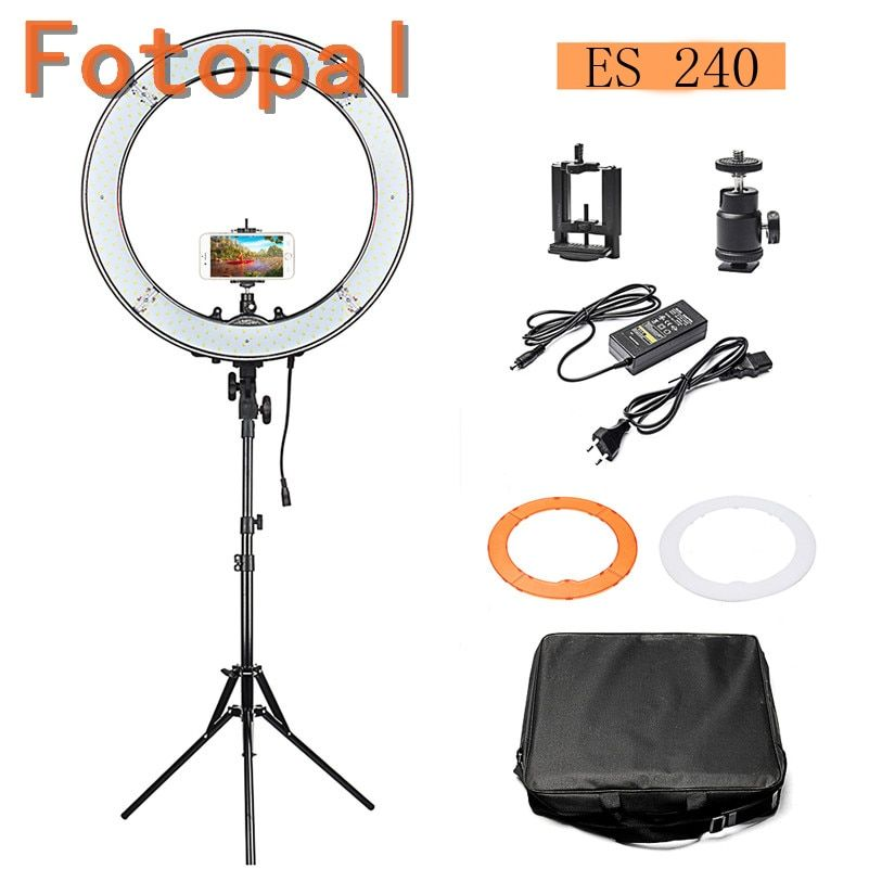 Fotopal ES240 5500K Dimmable 2 Color Filter 18