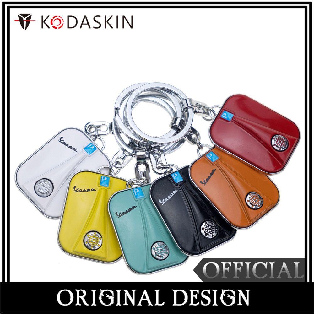 KODASKIN Speaker Design Keychain for Piaggio VESPA GTS GTV LX PX LT Sprint Primavera GTS300 Keyring