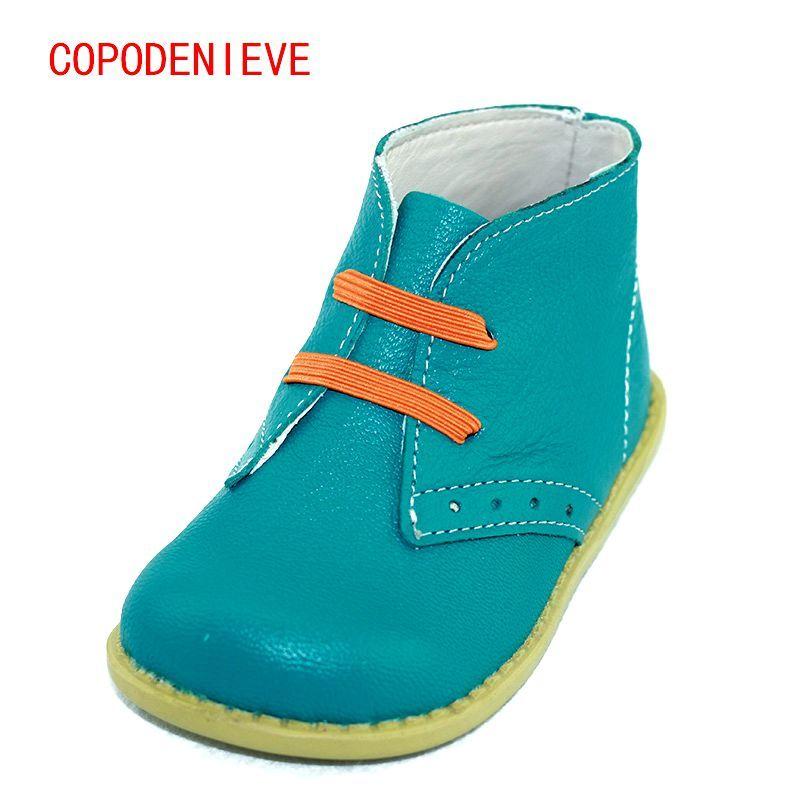 COPODENIEVE Chaussures enfants garçons filles de neige de mode Martin bottes unique bas court botas enfants bébé nina garçons automne chaussures