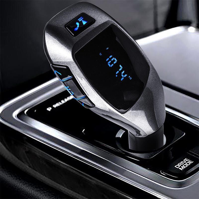 Фирменная Новинка Bluetooth Автомобильный fm-трансмиттер модулятор Автомобильный MP3 плеер Беспроводной громкой музыки аудио с интерфейсом usb Ав...