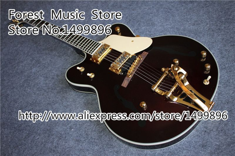 Hot Selling G6122-1962 Guitars Atkins Country Gentleman Electric Guitars With Bigsby From China Factory